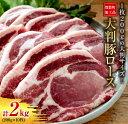 【ふるさと納税】大判豚ロース計2kg(200g×10枚)都農