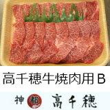 【ふるさと納税】A-3高千穂牛焼肉用B