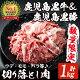 【ふるさと納税】【数量限定】鹿児島黒牛切り落とし肉・鹿児島黒豚もも切り落とし肉 計約1kg…