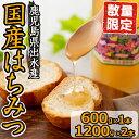 【ふるさと納税】純国産の蜂蜜!出水の香り(1200g×2・6