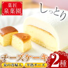 【ふるさと納税】チーズケーキセット2種!泉の貴婦人(1個)と半熟チーズ(10個)の詰め合わせ!【泉菓園】