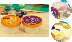 【ふるさと納税】種子島産安納芋&紫芋ジェラート10個セット