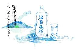 【ふるさと納税】飲む温泉水/温泉水99(1.9L×12本) 画像1