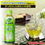 【ふるさと納税】 お茶 緑茶 『おいしいネ。 財宝 のお茶だもん』 500ml×24 ペットボトル 鹿児島県 垂水市 財宝 知覧茶葉使用 水出し