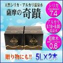 【ふるさと納税】 薩摩の奇蹟 5L 2箱 小型ボックス【送料...