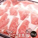 【ふるさと納税】 黒豚 鹿児島 ロース肉 スライス 厚切りスライス もも肉 バラ 3kg セット み...