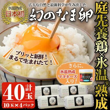 陸の孤島マヨネーズ氷温熟成&なま卵 コラボセット 大 【サテライツ】