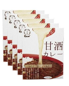 【ふるさと納税】麹屋が作る本格派甘酒カレー5箱セット