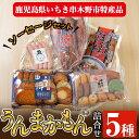 【ふるさと納税】いちき串木野特産品!うんまかもん冷凍セット2...