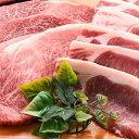 【ふるさと納税】黒毛和牛ロースステーキ・黒豚ロースステーキセット B-021