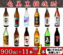 【ふるさと納税】奄美黒糖焼酎 蔵元めぐり 900ml瓶×11