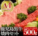 【ふるさと納税】やまさきの焼肉特製 A4等級以上 鹿児島黒牛...
