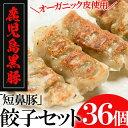 【ふるさと納税】鹿児島黒豚「短鼻豚」餃子セット(オーガニック...