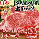【ふるさと納税】鹿児島県産黒毛和牛A4等級牛肉!サーロインス...