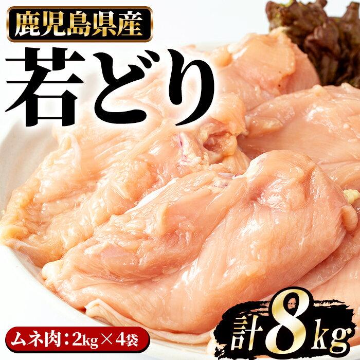 まつぼっくり 若どりムネ肉8kg_