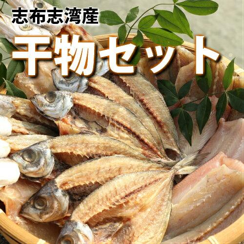 【ふるさと納税】【13178】海の恵みがお日さまをたっぷり食べた干物セット