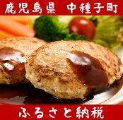 【ふるさと納税】黒豚ハンバーグ