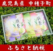 【ふるさと納税】たねがしま新茶(500g)
