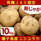 【ふるさと納税】鹿児島県種子島産有機JAS新じゃが『たねがじゃが』