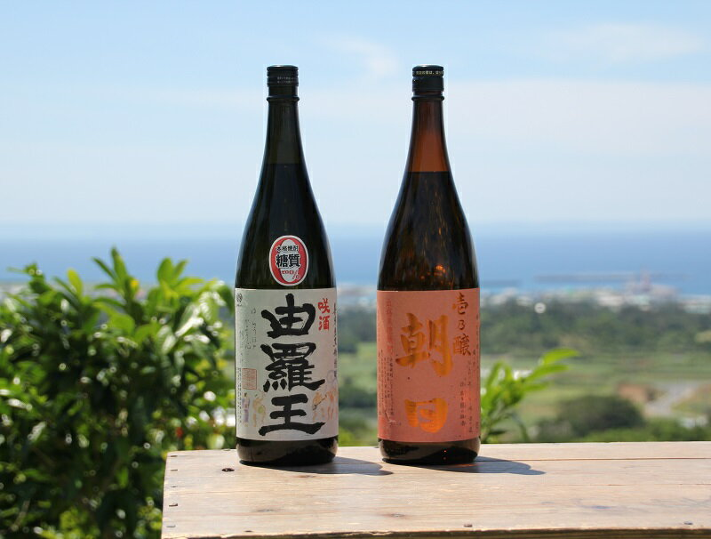 黒糖焼酎一升瓶2本セット(壱乃醸・由羅王)のし・ラッピング対応可/配達日指定可