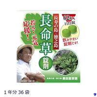 【ふるさと納税】長命草サプリ1年分