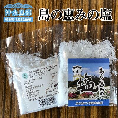 【ふるさと納税】島の恵みの塩【3月配送】