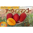 【ふるさと納税】沖縄県糸満産 産地直送マンゴー 1.5kg【...