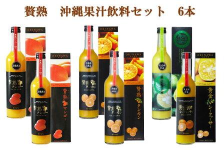 贅熟沖縄果汁飲料セット6本