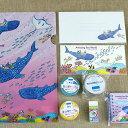 【ふるさと納税】沖縄美ら海水族館オリジナルグッズ(ステーショナリー9点セット)