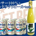【ふるさと納税】シークァーサー500ml瓶×オリオンドラフトビール350ml缶9本セット