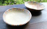 【ふるさと納税】やちむん丸小皿(茶)2枚セット