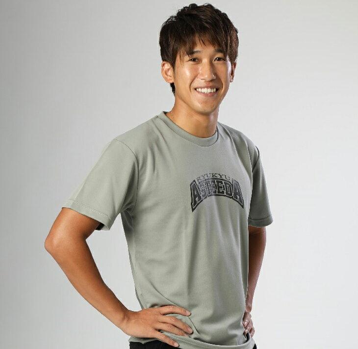 【ふるさと納税】琉球アスティーダオリジナルTシャツ(XLサイズ 素材:ポリエステル)&ステッカー