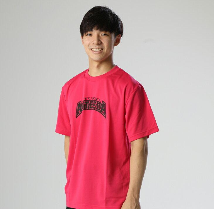 【ふるさと納税】琉球アスティーダオリジナルTシャツ(Sサイズ 素材:ポリエステル)&ステッカー