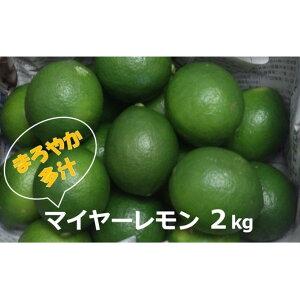 【ふるさと納税】【2021年発送】マイヤーレモン (島レモン)約2kg 【果物類・柑橘類・レモン・檸檬・マイヤーレモン】 お届け:2021年7月15日〜10月31日