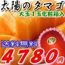 楽天ランキング1位の当店人気商品!完熟宮崎マンゴー『太陽のタマゴ』