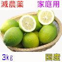 減農薬 国産 レモン 3kg 訳あり 愛媛 瀬戸内 大三島 ore SSS 3h