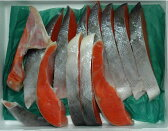 【10%OFFクーポン対象】アラスカ産 天然紅鮭 甘塩 一尾分 約2kg 切り身 ギフト