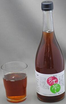 和歌山産 無農薬 南高梅 使用 梅シロップ 720ml 『紅誉』 有機栽培 合成保存料・着色料 無添加