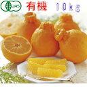 有機JAS 和歌山 デコポン 約10kg 訳あり みかん サイズ混合 バラ詰め 有機栽培 産地直送 でこぽん 3t