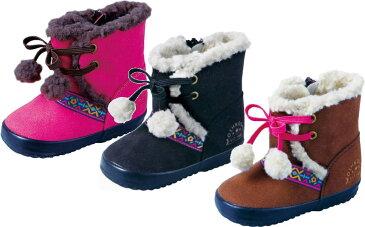 (A倉庫)【OshKosh】 オシュコシュ OSK WB098 ベビーブーツ ウィンター ボア付きブーツ 子供靴 子供ブーツ キッズ 女の子 防寒 撥水加工 ムートン風