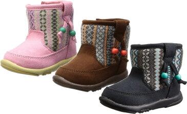 (A倉庫)【OSH KOSH】 オシュコシュ OSK B98 ベビーブーツ 女の子 キッズ ベビー 子供靴 ベビーシューズ ブーツ 靴