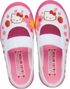 【上靴 14〜21.0cm】 上履き キャラクター バレーシューズ ピンク(A倉庫)アサヒ ハローキティ...