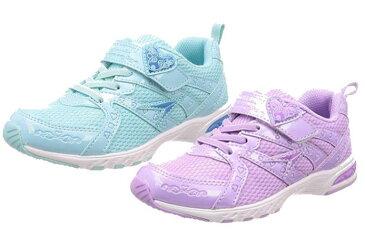 (A倉庫)瞬足レモンパイ 427 LEJ 4270 子供靴 スニーカー キッズ ジュニア シューズ 女の子 靴 2E 白 ハート