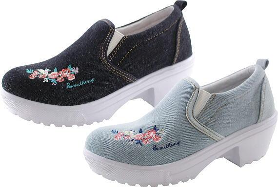 (A倉庫)SOMETHING EDWIN SOM 3099 サムシング エドウィン 子供靴 スニーカー スリッポン シューズ SOM-3099 ジュニア 女の子 靴 カジュアル