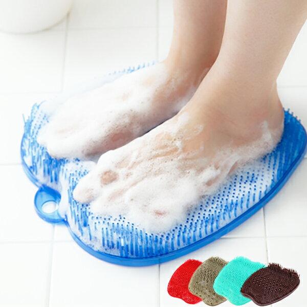 フットブラシ 足洗い 足洗いマット 足裏ブラシ 足臭い 角質ケア フットケアブラシ 角質 臭い 防止 足裏マッサージ (箱なし)()