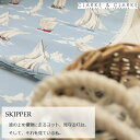 イギリス マリン柄商品名:SKIPPER/marine ブラ...