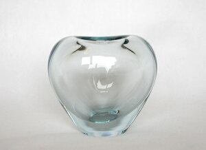 Holmegaard Heart Vase aqua ホルムガード ハートベース