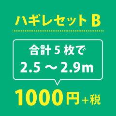 【ゆうパック送料無料】ハギレセットB【合計2.5〜2.9m】
