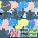 【30ビエラ】★10cm単位続けてカット★ERI SHIMATSUKA × MOOMIN2018森の中【ムーミン 北欧 生地 布】