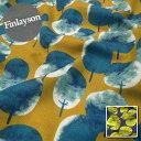 【ダブルガーゼ】★10cm単位続けてカット★Finlayson フィンレイソンSAARNI 木の柄【北欧生地】